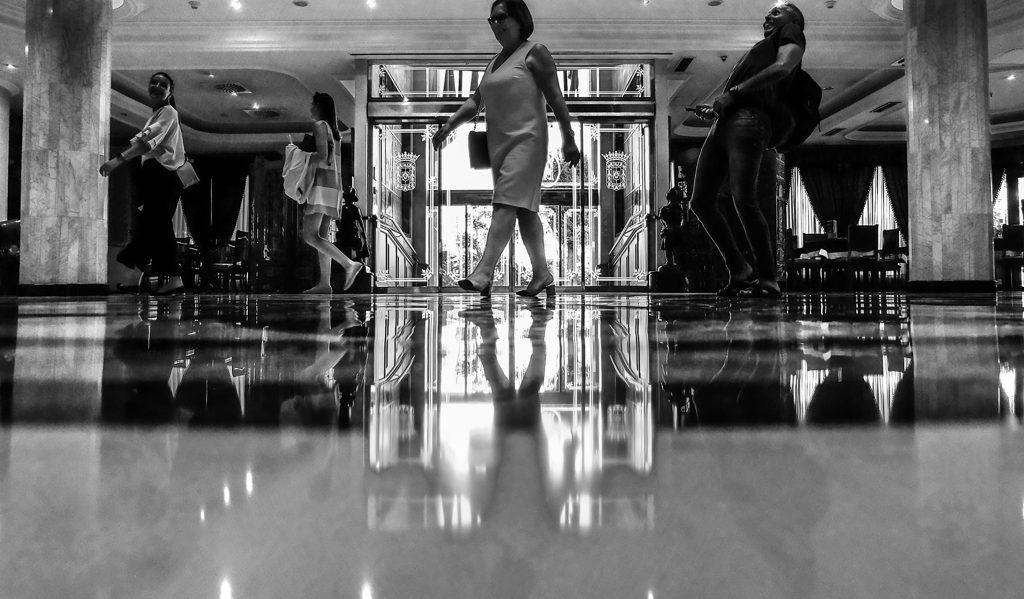 reflejo en suelo